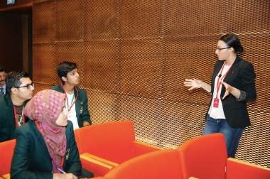 Abdullah Gül University, International Office, Pakistan students, high achieving, high schools, university tour