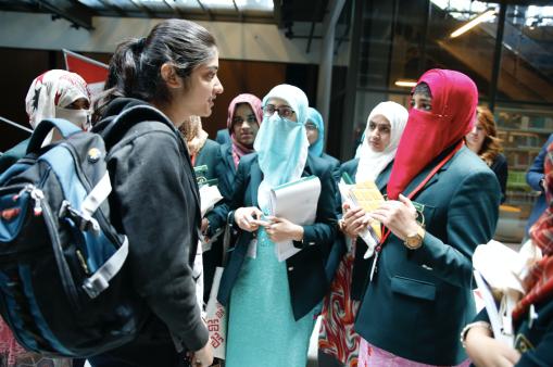 Abdullah Gül University, AGU, international students, Pakistan, Iran, Lebanon, meet, prospect Pakistani students