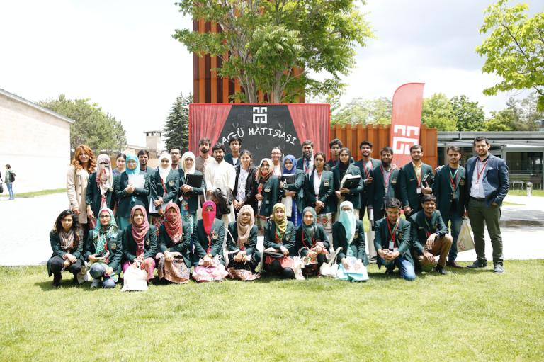 Abdullah Gül University, campus tour, Pakistani, students