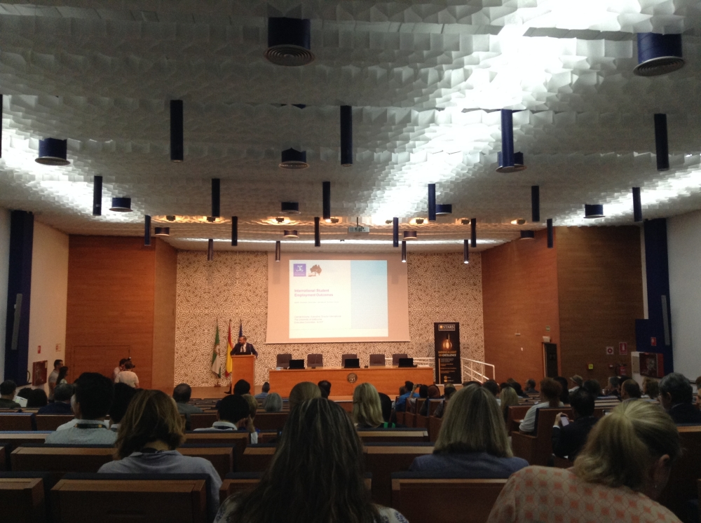 QS, Graduate Employability Ranking, EAIE, 2017, Seville