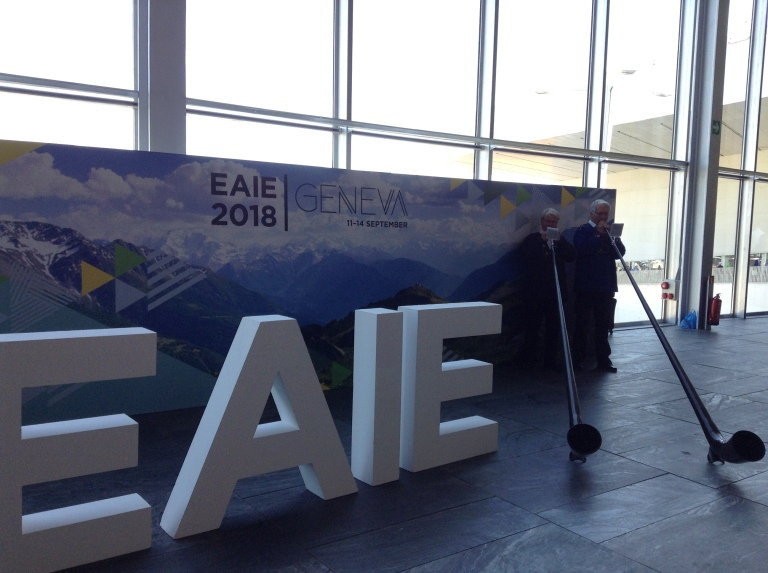 EAIE 2018, Conference and Exhibition, Geneva, Switzerland