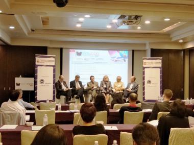AGU, Abdullah Gül University, Rector, Ihsan Sabuncuoglu, panel, speaker, New Generation University model, EduCon Asia, Singapore, Higher Education Summit
