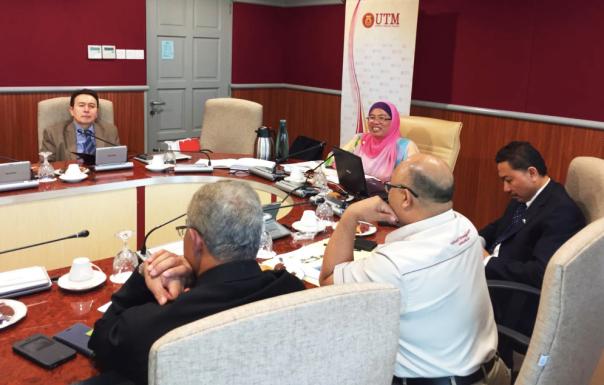 Abdullah Gül University, AGU, Turkey, Rector, Prof. Dr. Ihsan Sabuncuoğlu, visit, UTM, Malaysia, Kuala Lumpur, campus