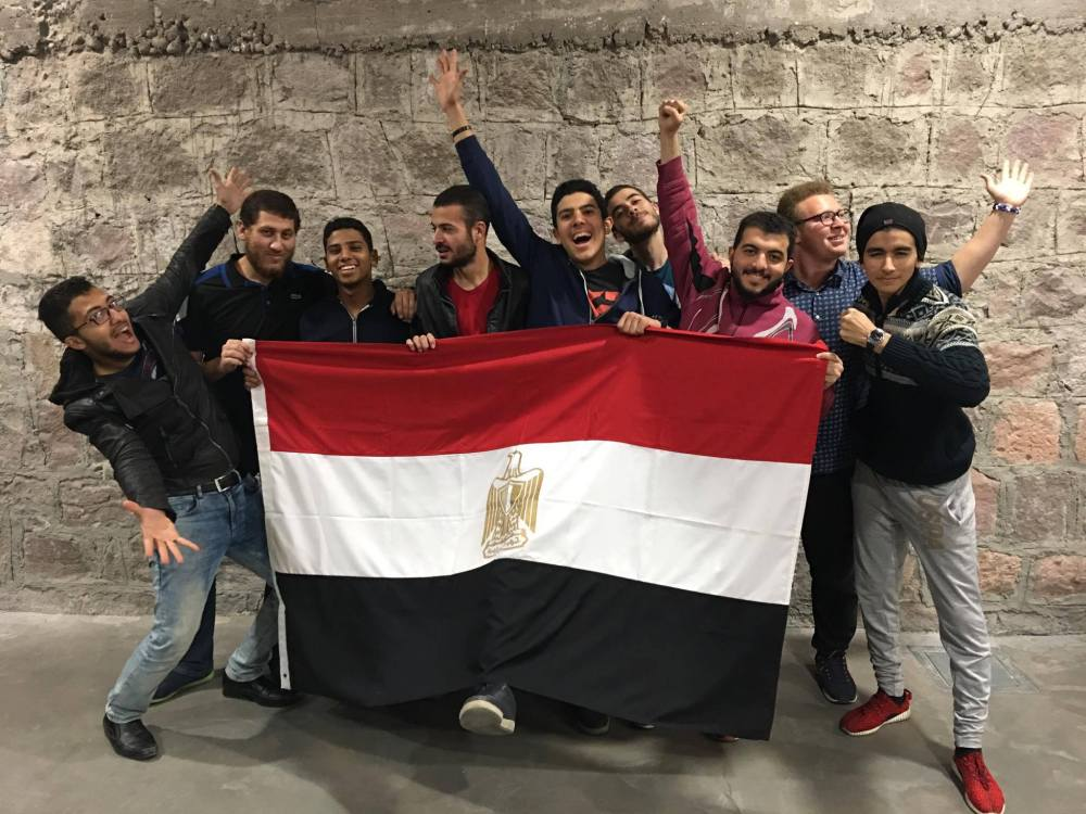 International, students, Egypt, AGU, Abdullah Gül University, Turkey