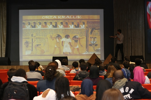 Egypt, AGU Intercultural Series, Egyptian students, Ancient Egypt, History