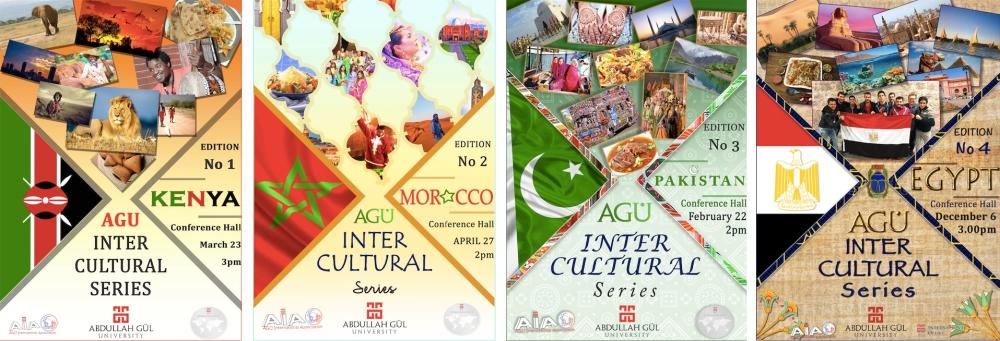 Abdullah Gül University, AGU, Intercultural Series, student, event, AGU, International, students, Kenya, Morocco, Pakistan, Egypt, AGU International Association, AIA, AGU International Office