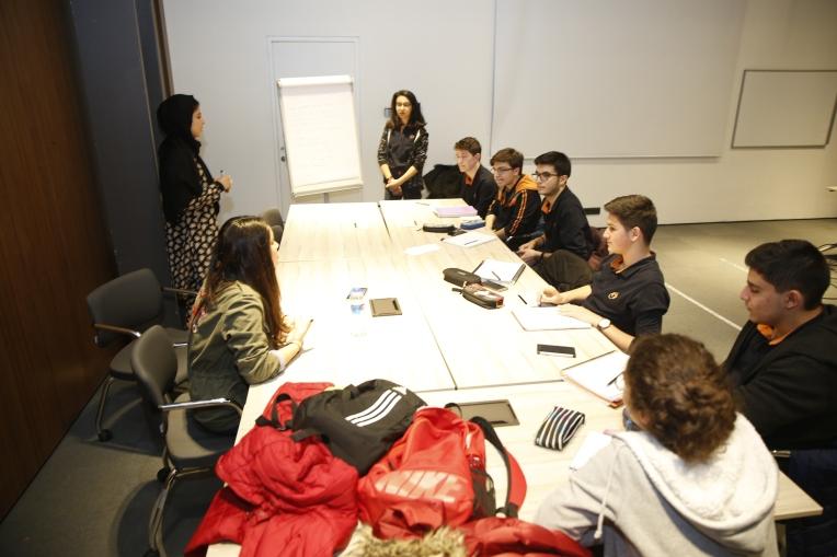 Abdullah Gül University, AGU, Tekden Koleji, students, intercultural workshop, Morocco