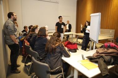 Abdullah Gül University, AGU, Tekden Koleji, students, intercultural workshop
