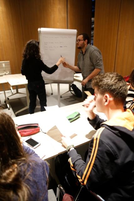 AGU, international, studens, tekden koleji, high school students, abdullah gül university, workshop