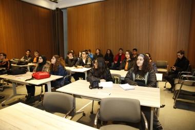 Kayseri, AGUV-TOBB, Tekden Anadolu, High school, students, Abdullah Gül University, intercultural workshop