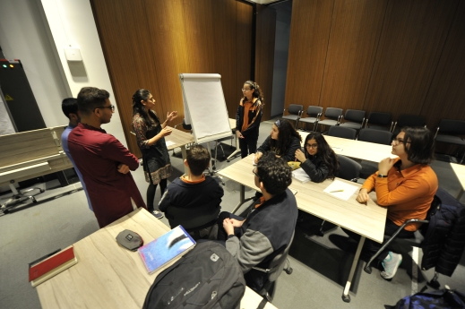 AGU, kayseri, tekden high school, students, abdullah Gül Universty, Pakistani students, intercultural workshops