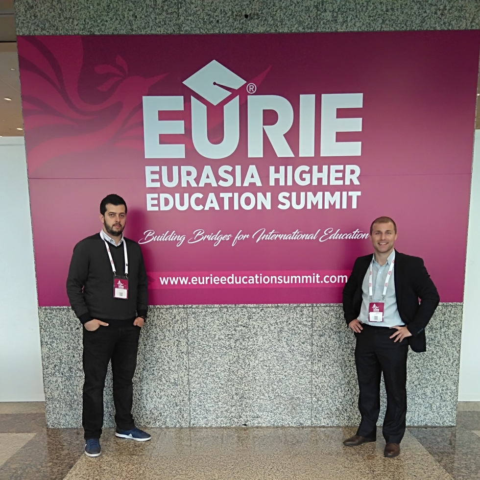 Abdullah Gül University, International Office, EURIE, 2018