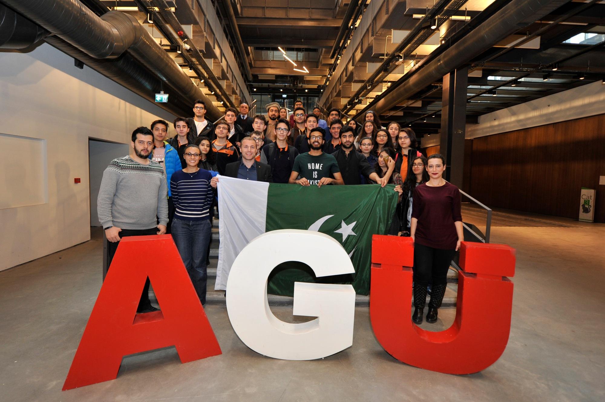 Abdullah Gül University, AGU, Pakistan, Intercultural Workshop, second edition, AGUV-TOBB Tekden Anadolu lisesi, high school students