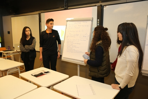 Abdullah Gül University, AGU, intercultural, workshops, Egypt, international students, AGÜV-TOBB Tekden Koleji, high school students