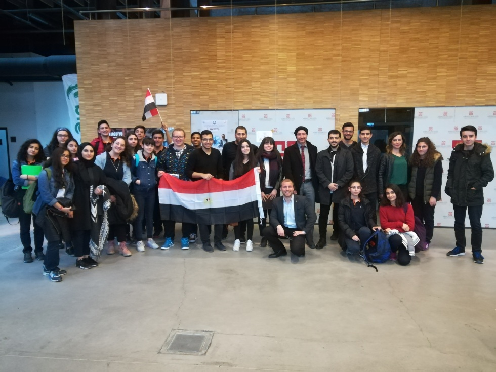 Abdullah Gül University, Intercultural Workshop, Egypt, AGU, international students, Egyptian students, Kayseri, AGUV-TOBB Tekden Fen Lisesi