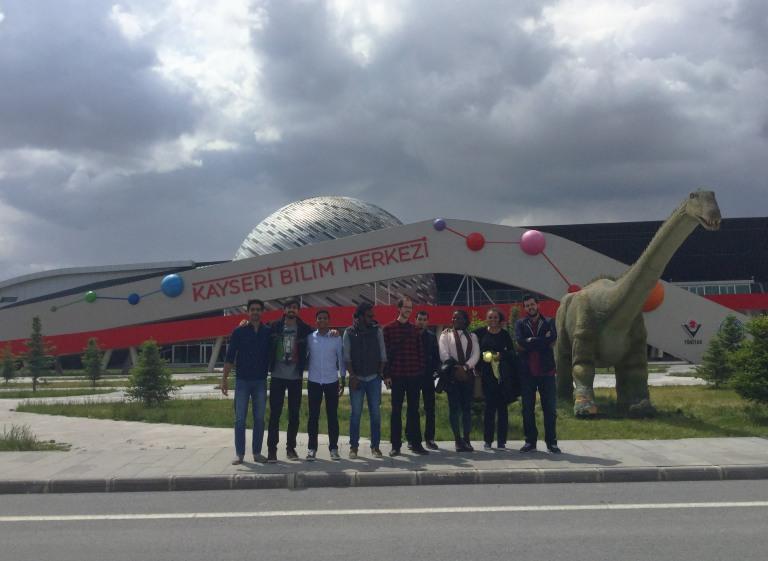 KayseriBilimMerkezi group photo