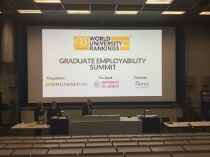 EAIE, 2018, Abdullah Gül Univeristy, AGU, QS World University Rankings, Graduate Employability Summit, Geneva, 2018