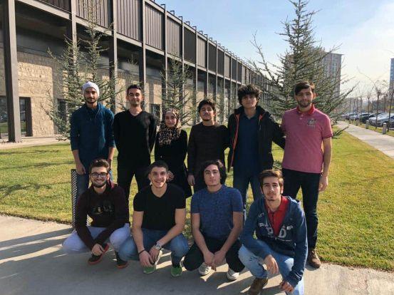 Abdullah Gül University, AGU, Syrian students
