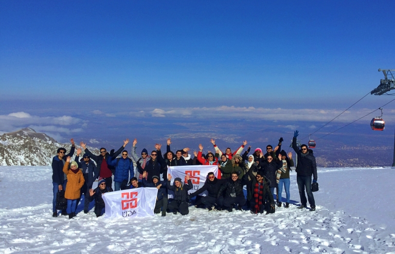 ERciyes, Ski, resort, Kayseri, winter, ski, snowboard, trip, Abdullah Gül University, international students