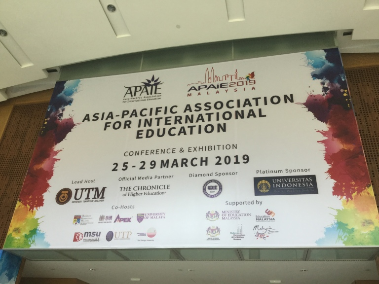 APAIE, 2019, Asia Pacific Association for International Education, Malaysia, Kuala Lumpur, Conference and Exhibition