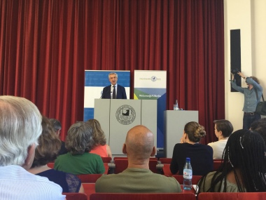 freie Universitat Berlin, Erasmus Staff Week, United Nations High Commissioner for Refugees, Filippo Grandi