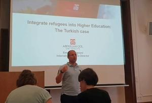 Abdullah Gül University, AGU, Kayseri, Turkey, Emeric Abrignani, Erasmus Staff Week, Freie Universitat Berlin
