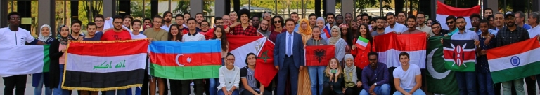 Abdullah Gül University, AGU, International Students, 2018