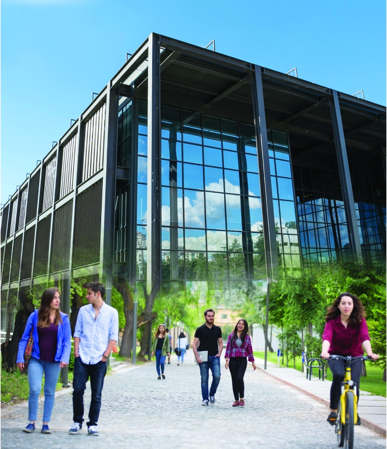 Abdullah Gül University, AGU, Institutional Report, Students, Steel Building