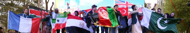 Abdullah Gül University, AGU, International Youth Fest
