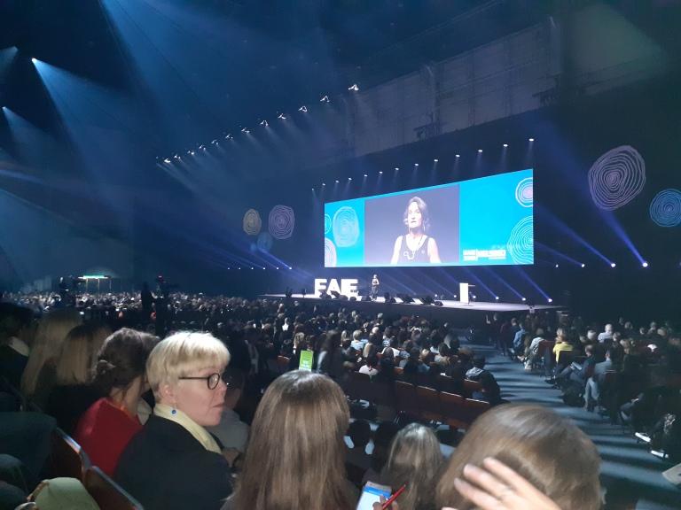 EAIE, 2019, Helsinki, opening ceremony, Sabine Pendl