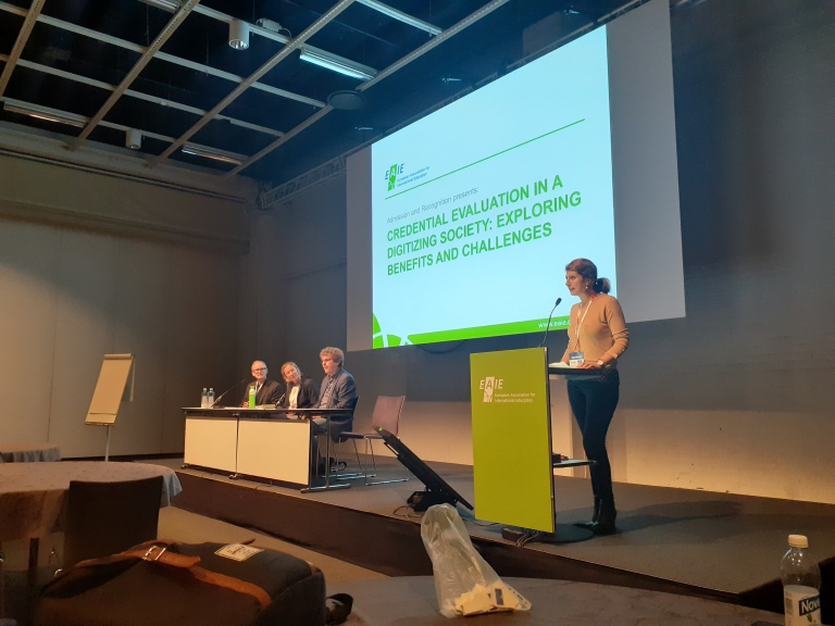 EAIE, 2019, Helsinki, EAIE Expert Communities, Admission and Recognition, SPARK, Ceren Genç