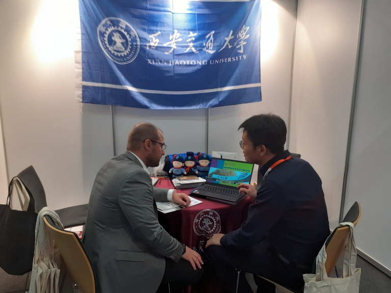 Abdullah Gül University, Turkey, Xi,an Jiaotong University, china, partnership, EAIE 2019, Helsinki