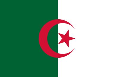 Algeria, Cezayir, Flag