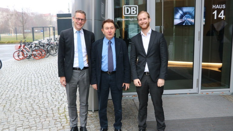Deutsche Bahn, DB, Abdullah Gül University, AGU, Berlin