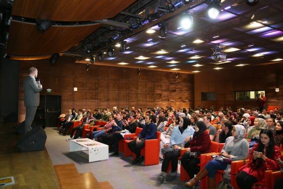 AGu, Abdullah Gül University, Intercultural Series, Pakistan, event, Conference Hall
